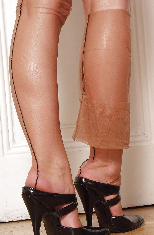 heels and hose wrinkled stockings just me pinterest stockings