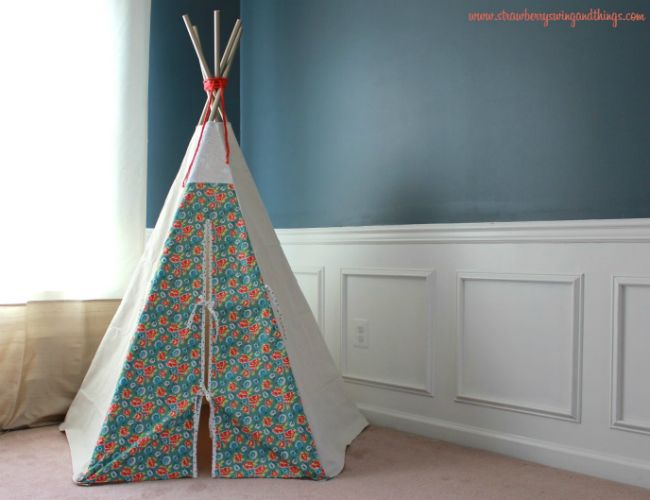 Craft ideas · DIY Teepee made with PVC tent poles & DIY Teepee Designs - 5 to Build This Weekend | Pvc tent Diy ...