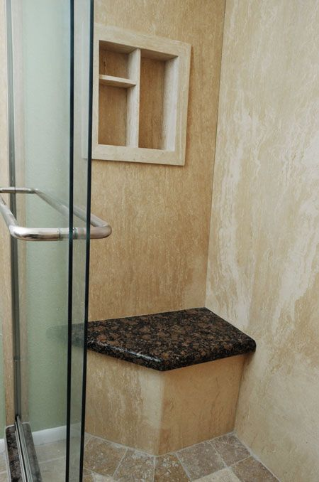 Frequently Asked Remodeling Questions Stone Shower Rain Glass