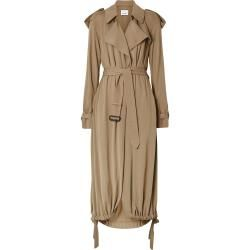 Burberry Jersey-Wickelmantel - Nude Burberry #rockandrolloutfits