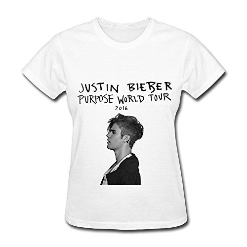 Fl justin bieber purpose world tour fan logo t shirt for for Justin bieber black and white shirt