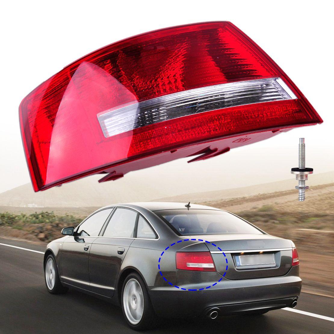 Left Tail Light Assembly Lamp Housing Without Bulb 4f5 945 095 L 4f5 945 095 D For Audi A6 Quattro A6 2005 2006 2007 2008 Sedan Audi A6 Quattro Sedan Audi A6