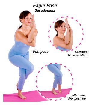 how to do eagle pose in yoga  prenatal yoga poses yoga