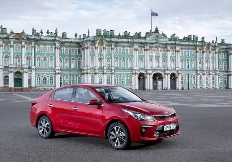 أفضل 5 سيارات عصرية في روسيا خلال الخمس سنوات الماضية Kia Rio Suv Kia
