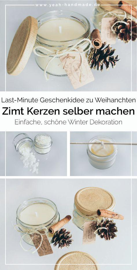 Photo of The zu Weihnachten selber Machen DIY Kerze zimt – Yes, handmade