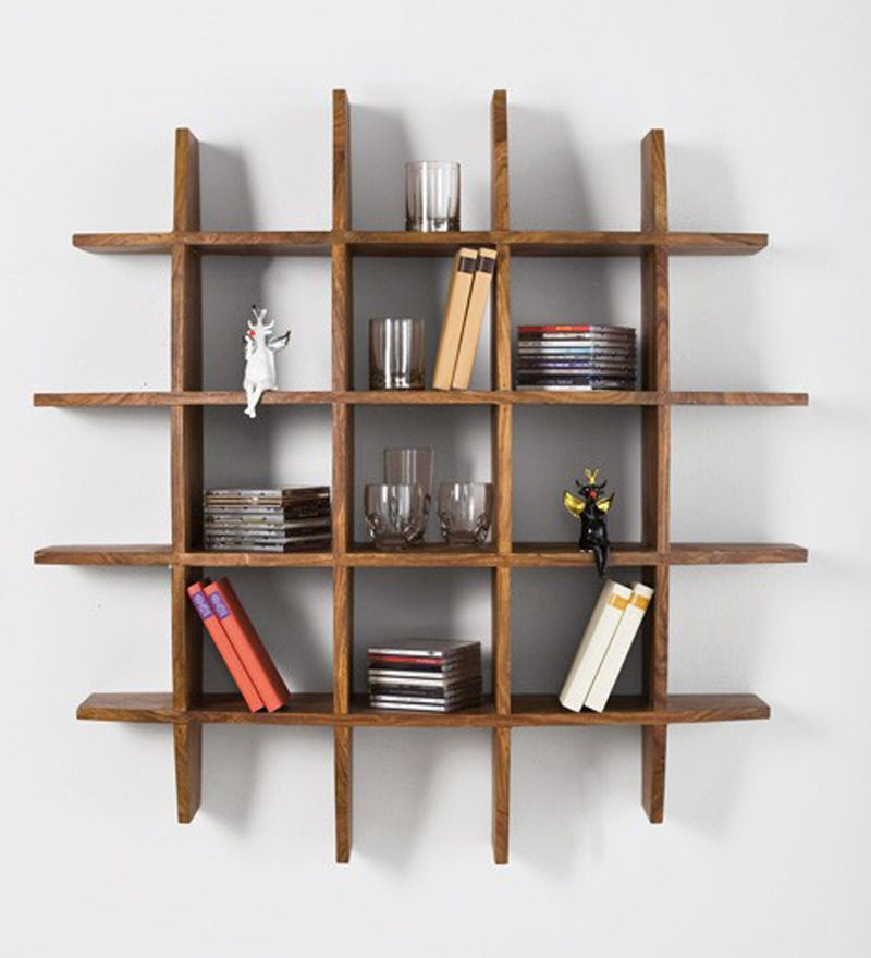 Curvy Sheesham Wood Wall Rack Is A Must Have For Your Home This Is Designed To Perfection And Also Fills The Wall With Artifa Wall Racks Decor Shelf Furniture