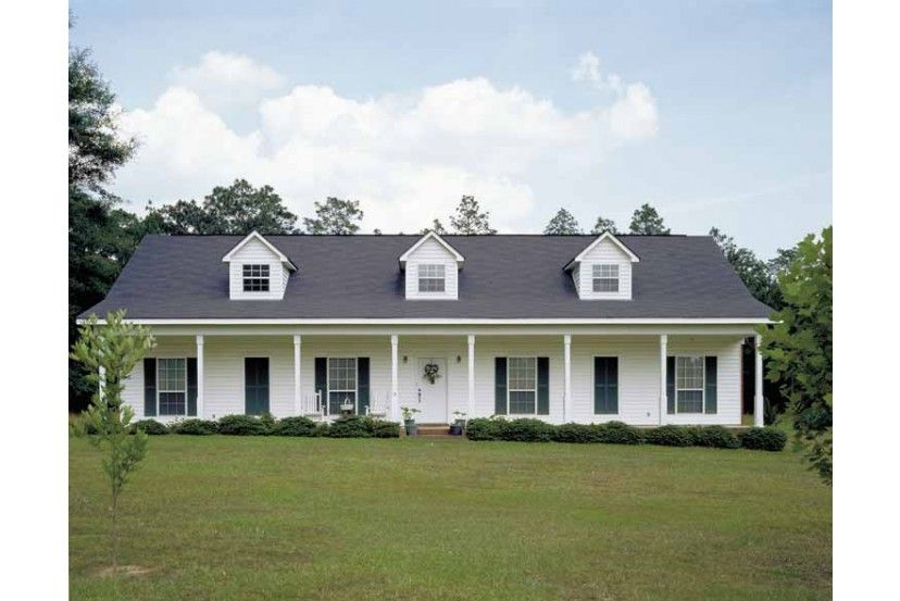 Great 1 Story Family Country Home Of 2 156 Sq Ft Hq Plans Pictures House Plans Farmhouse House Plans Affordable House Plans