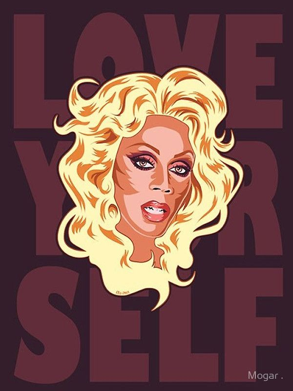 love yourself rupaul poster small 16 4 x 21 9 12 96 interior