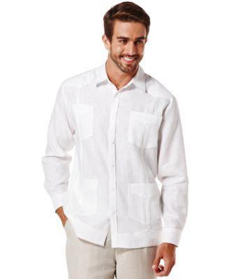 100 Linen Long Sleeve Guayabera Shirt Guayabera Shirt Mens Shirt Dress Online Shopping Clothes Women
