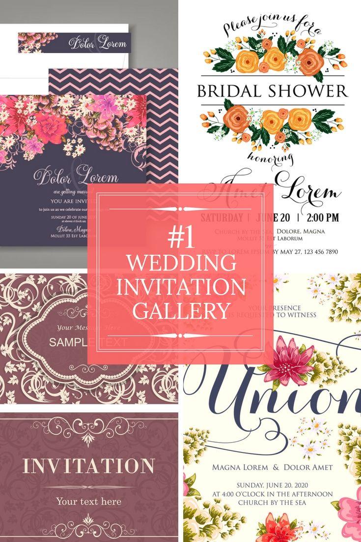 Create Your Fantastic Wedding Invitation Cards | Wedding Invitation ...