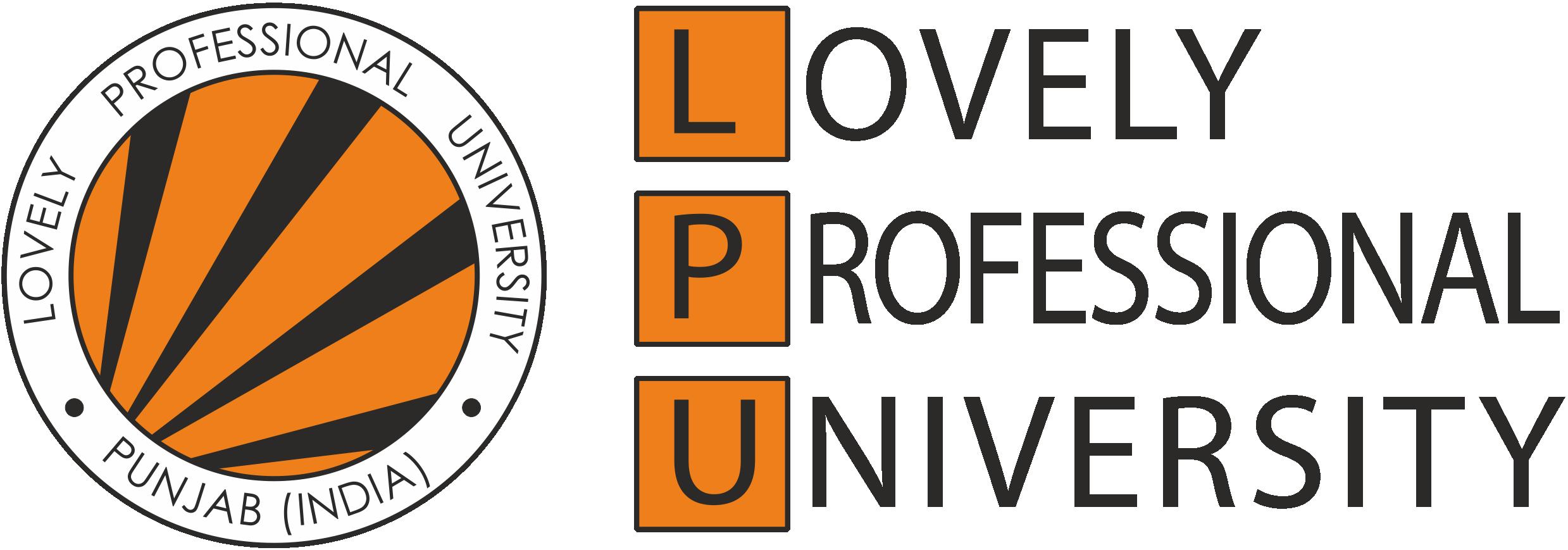LPU Logo Lovely Professional University Previous year