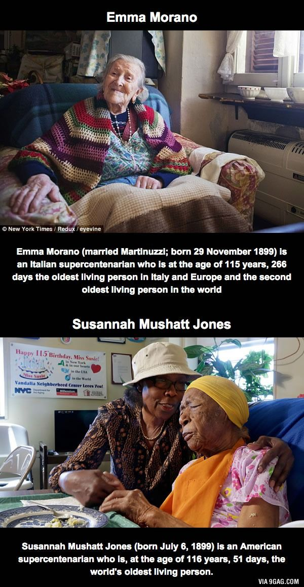 These ladies are the only two people born in the 19th century who are still alive today