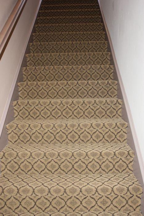 Masland Pattern Carpet Installed By Simas On Stairs Carpet Stairs Patterned Carpet Stair Runner Carpet