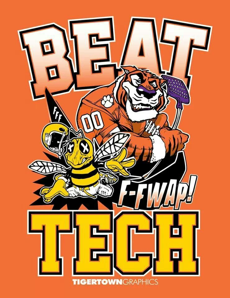 Beat gt clemson vs tech clemson clemson tigers
