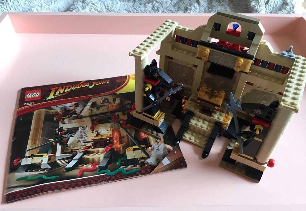 Lego 7621 indiana jones the lost tomb complete set