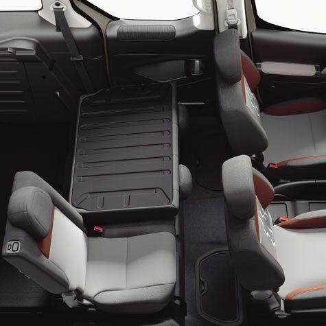 Peugeot #Partner #Tepee interior | Peugeot Partner Tepee | Pinterest ...