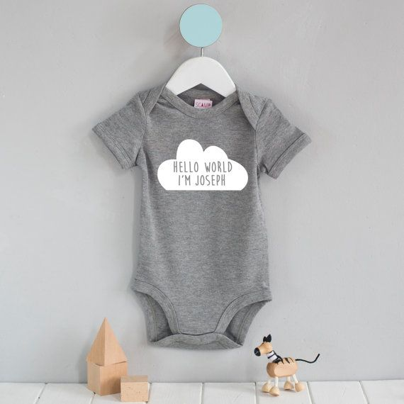 Brand new baby gift personalised hello world cloud baby grow brand new baby gift personalised hello world cloud baby grow personalised baby gift bespoke baby gift gift for newborn negle