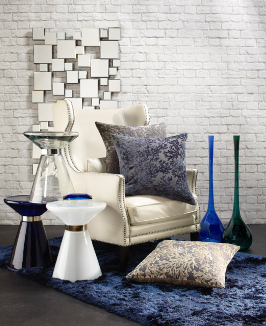 Modern Home Accents: Find More Decor, Accent Stools And Vases!