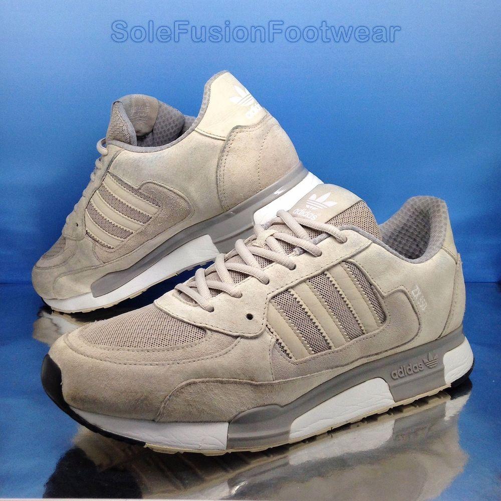adidas originali mens zx 850 formatori grey taglia 9 in scarpe da ginnastica