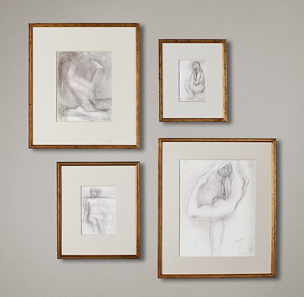 Gilt Gallery Frames | Frames | Restoration Hardware | For The Home ...