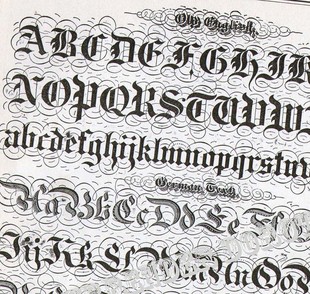 Calligraphy Fonts Victorian Lettering Alphabet Victorian Calligraphy Lessons 1886 12