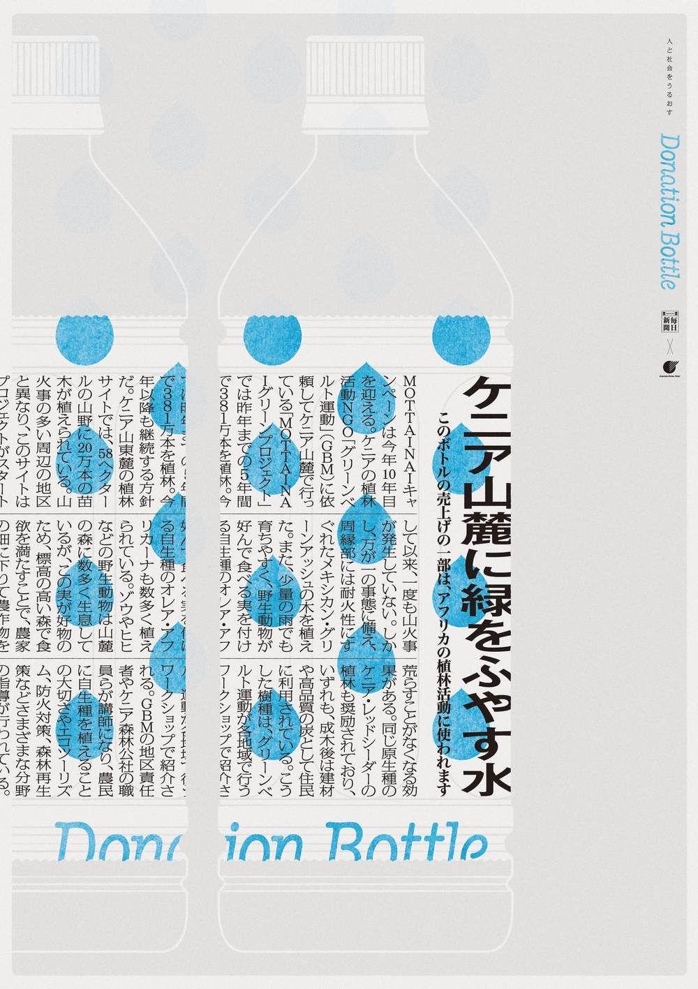 Donationbottle Yoshinaka Ono Graphic Design Posters Graphic Design Poster Design