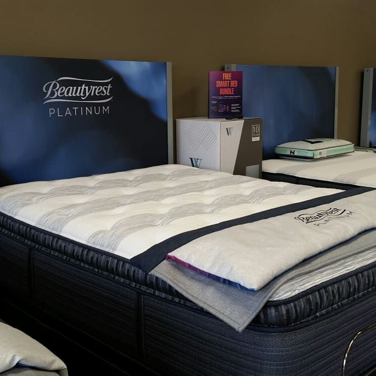 Need Some Support In Your Life The Beautyrest Platinum Haddox Meadow Has Just What You Need In Addition To 1000 Pocketed Co Quality Mattress Bed Beautyrest