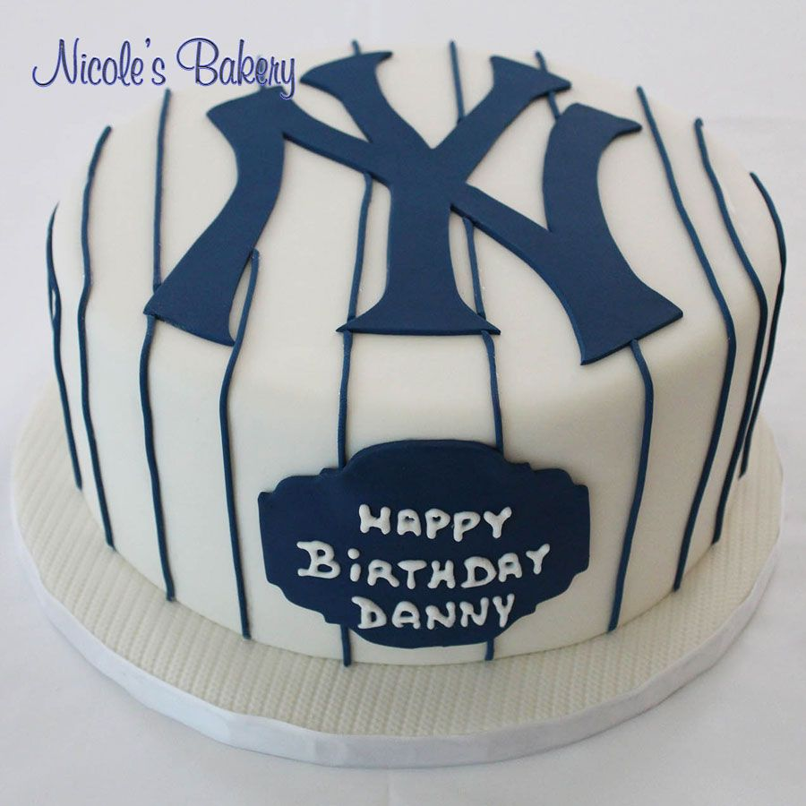 New York Yankees Jersey Cake Yankee Cake Cake Birthday Cake Kids