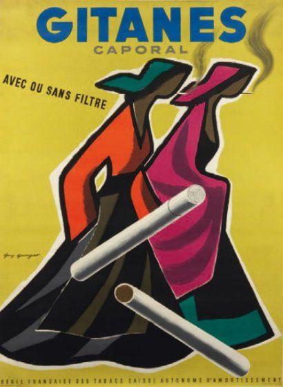 Regie Francaise Des Tabacs GITANES CAPORAL Avec Ou Sans Filtre