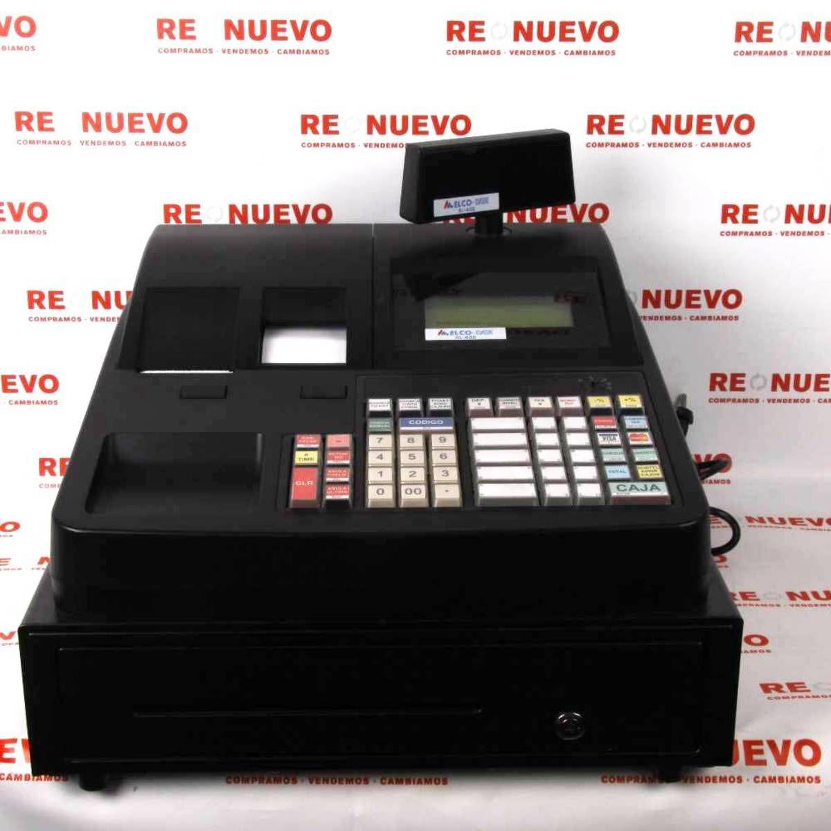 Caja Registradora Elco Data Al 400 E269677 De Segunda Mano