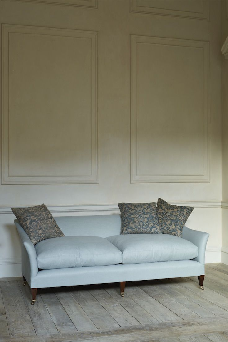 The Drawing Room Sofa By Rose Uniacke Has A Simple Refined Outline