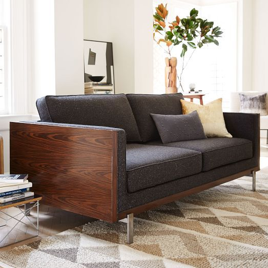 Wyatt Sofa West Elm Simple Sofa Furniture Contemporary Sofa