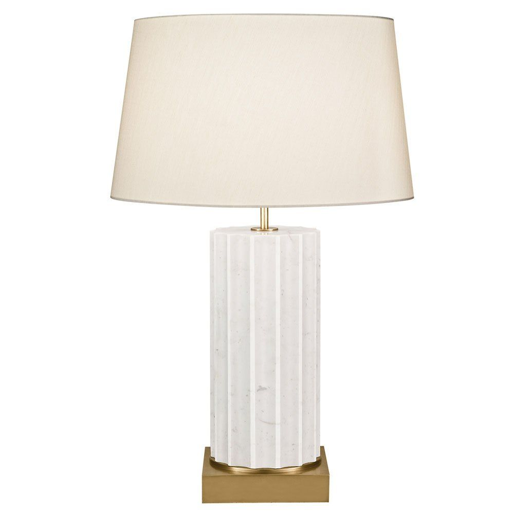 Fine Art Lamps White Marble 1 Light Table Lamp FA 826210 2