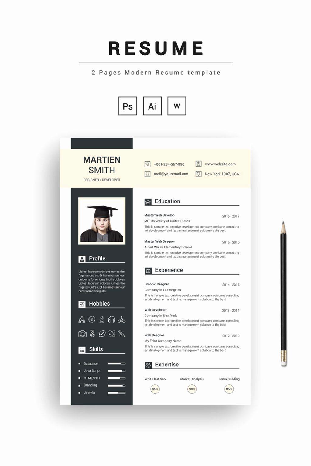 25 Graphic Design Student Resume In 2020 Student Resume