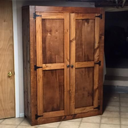 Beautiful Diy Pantry Diy Cupboards Armoire Diy Diy Pantry