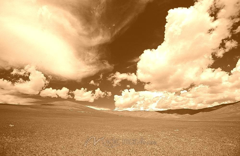Mongolian Wilderness - Clouds & Sky - Nature - Subject