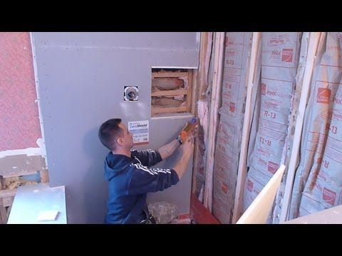 How to install shower surround tile backer board, PART \
