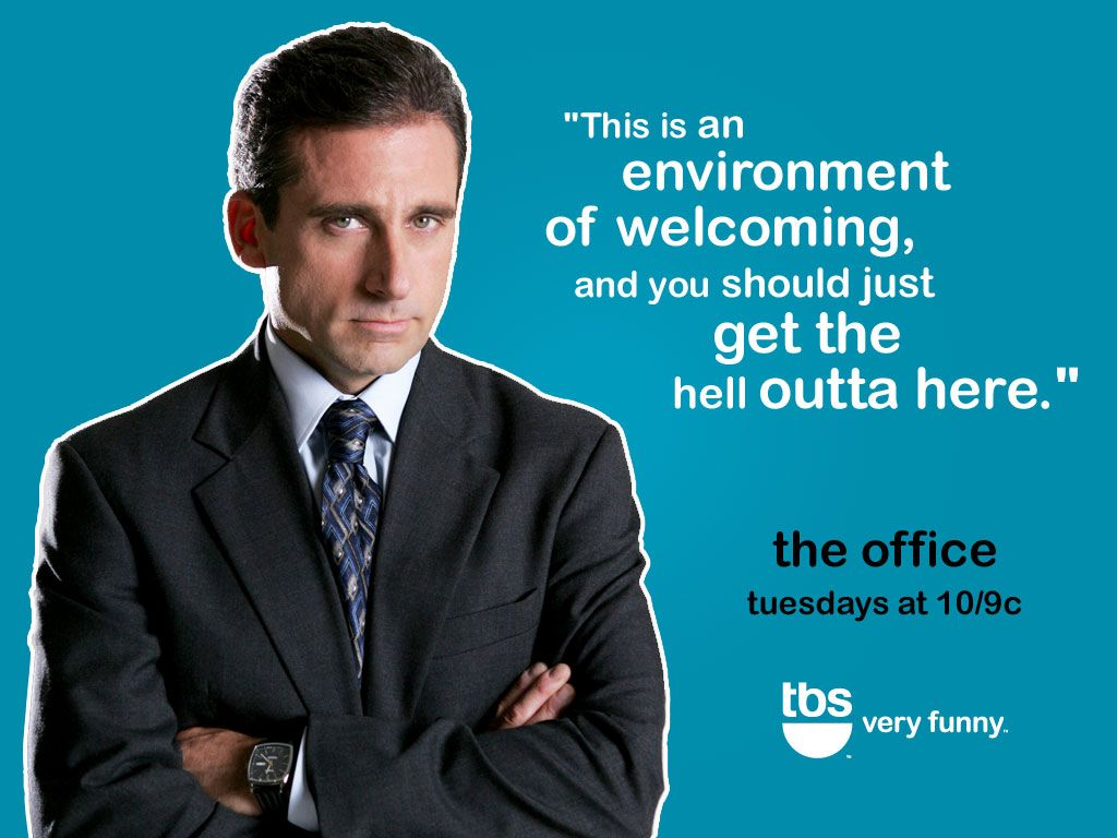 The Office Wallpaper Michael Office Quotes Funny Work Quotes Funny Happy Boss S Day Quotes