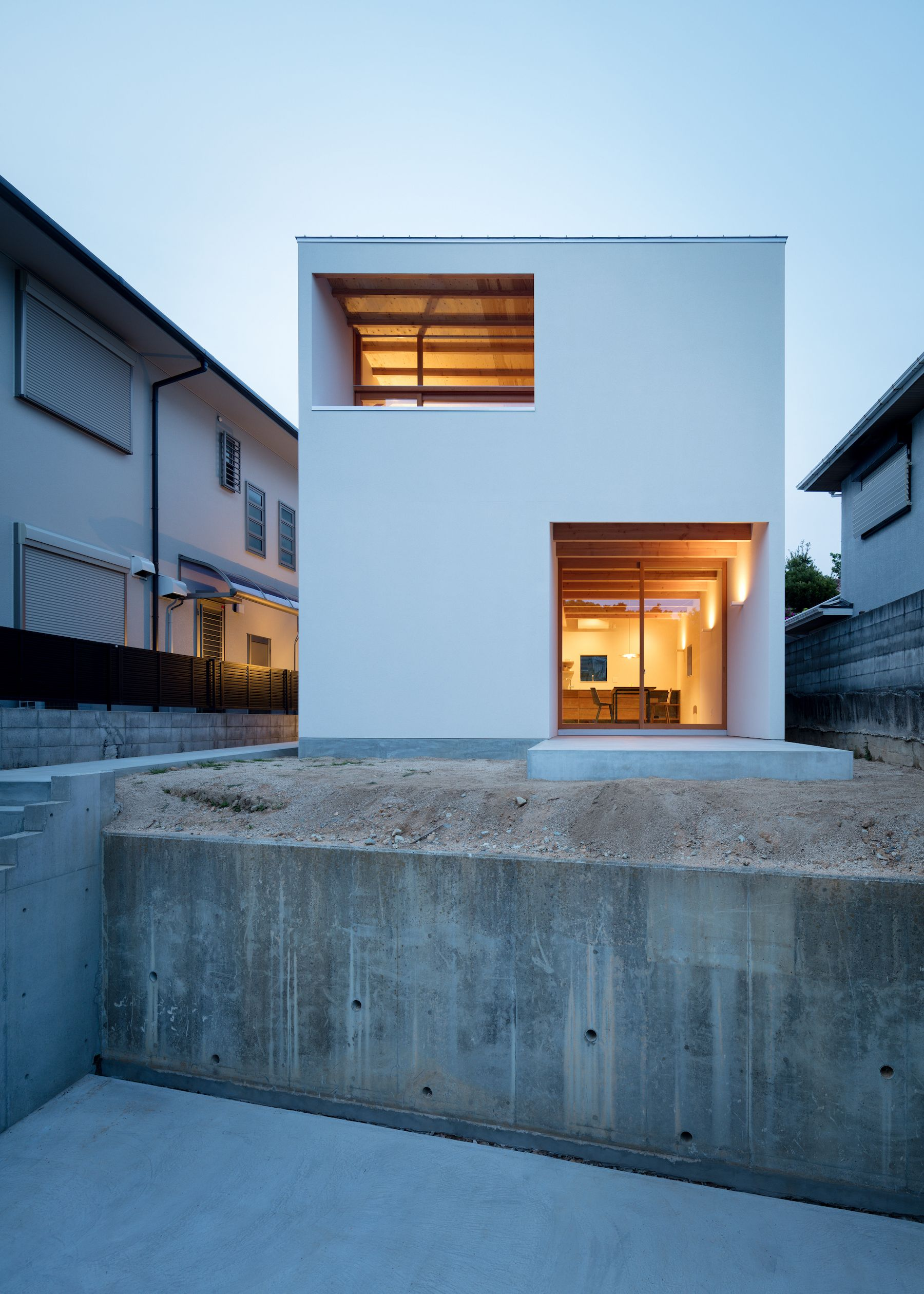 House In Mikage Japanese Modern House Architecture