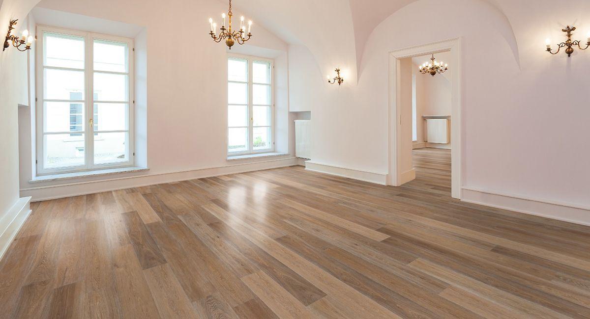 North London Floors White Smoked Oak Flooring, Country