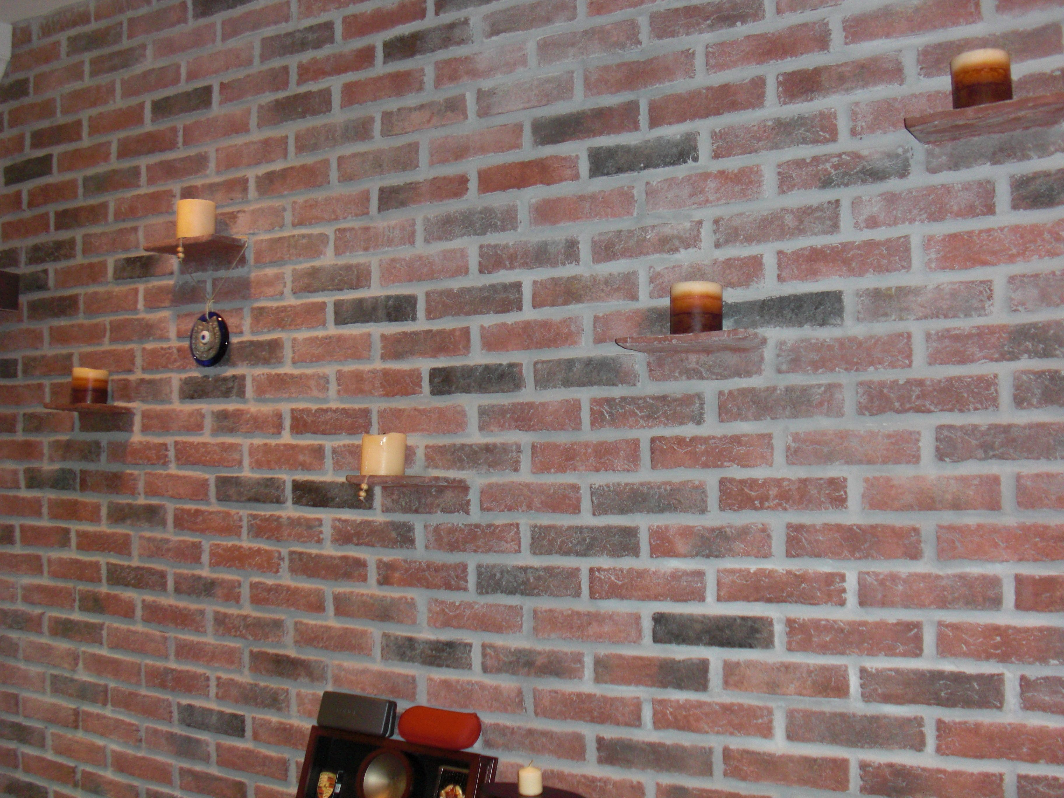 Exceptional Walls, Ceilings, And Fireplaces   Inglenook Brick Tiles   Thin .