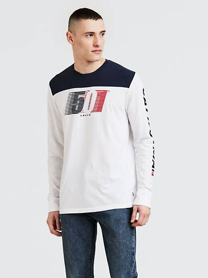 20a58cf32 Levi's Long Sleeve Graphic Tee Shirt in 2019 | Products | Graphic ...