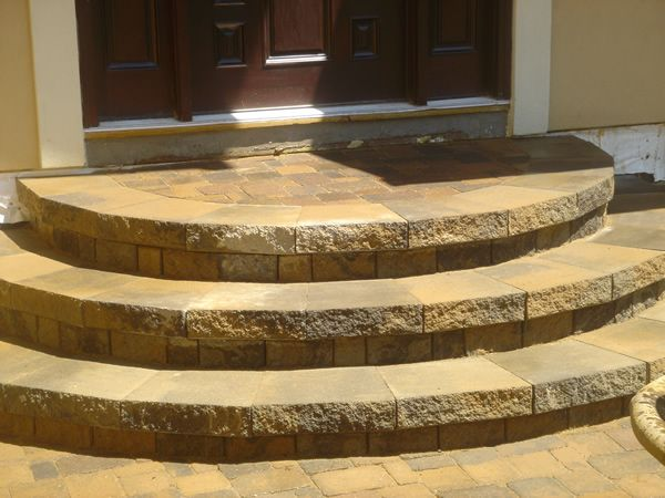 Best Curved Cement Steps Google Search Yard Pinterest 400 x 300