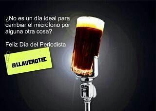 #llaverotec les desea Feliz día del Periodista #blogger #celebrate #day #periodismo