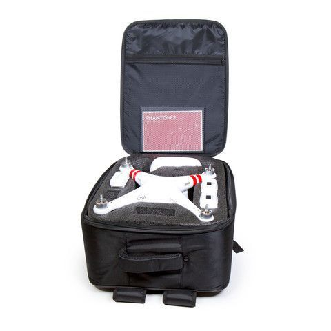 DJI PHANTOM 1 OR 2 VISION+ QUADCOPTER HARD BACKPACK BAG CARRY CASE BY ATOMIK RC