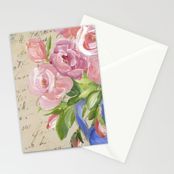 Memory and Sentiment Stationery Cards by Edith Jackson-Designs | Society6
