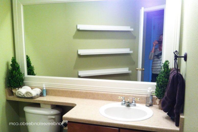 extra wide bathroom floating shelves white bathroom vanity glass rh pinterest com