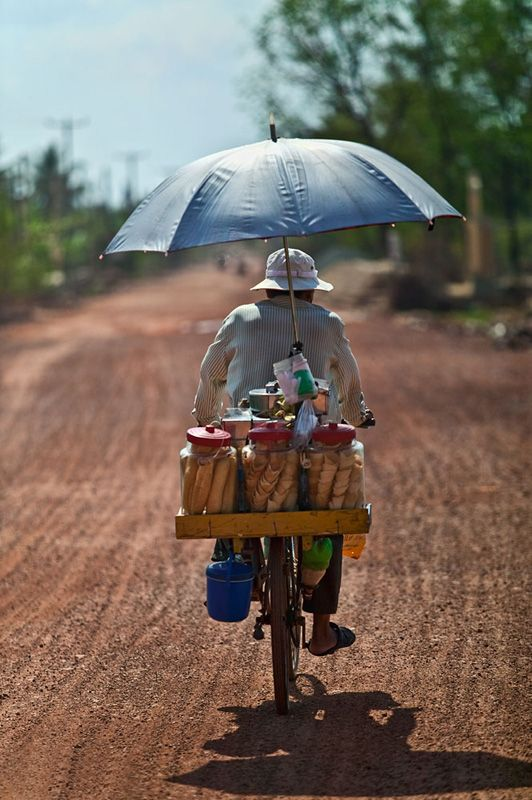 Ice Cream Seller - Kampot, Kampot