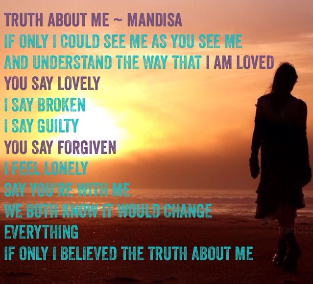 Image result for the truth about me by mandisa
