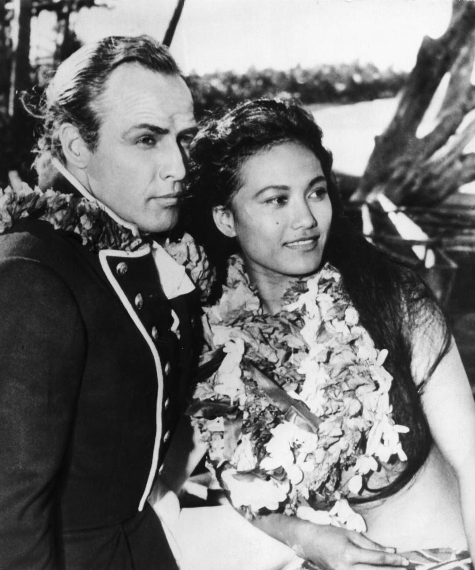 Marlon Brando married French Polynesian actress Tarita Teriipaia after meeting her in a film